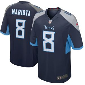 Marcus Mariota Tennessee Titans Nike New 2018 Game Jersey