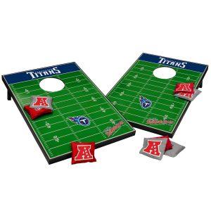 Tennessee Titans 2′ x 3′ Cornhole Tailgate Toss Set