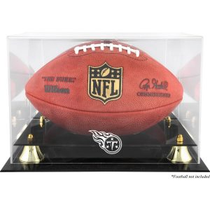 Tennessee Titans Fanatics Authentic Golden Classic Team Logo Football Display Case
