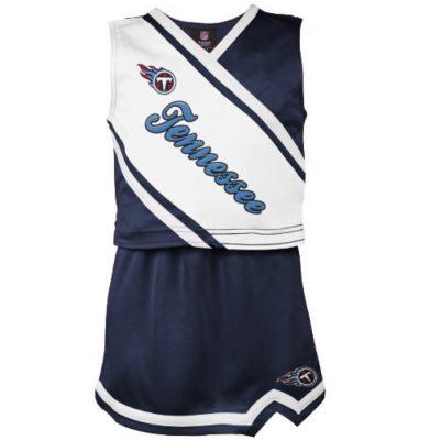 Tennessee Titans Girls Youth 2-Piece Cheerleader Set