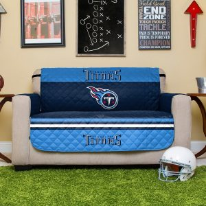 Tennessee Titans Love Seat Protector