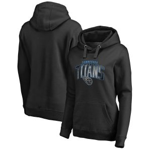 Tennessee Titans Women's Plus Size Arch Smoke Pullover Hoodie