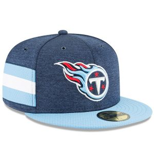 Tennessee Titans New Era 2018 NFL Sideline Home Official 59FIFTY Fitted Hat
