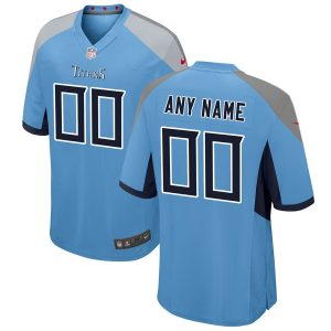 Tennessee Titans Nike Youth 2018 Alternate Custom Game Jersey