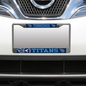 Tennessee Titans Small Over Large Mega License Plate Frame
