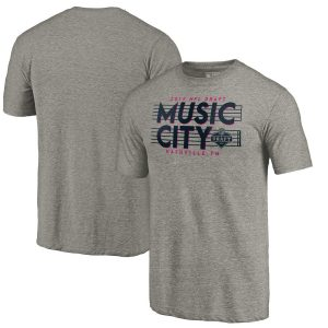 NFL Pro Line by Fanatics Branded 2019 NFL Draft Music City Tri-Blend T-Shirt