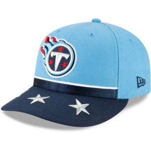 Tennessee Titans New Era 2019 NFL Draft On-Stage Official Low Profile 59FIFTY Fitted Hat
