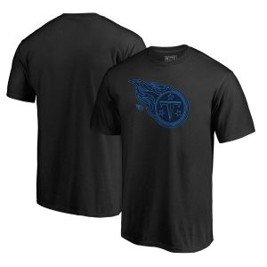 Men's Tennessee Titans Black Training Camp Hookup T-Shirt